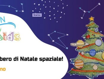 Un albero di Natale spaziale!